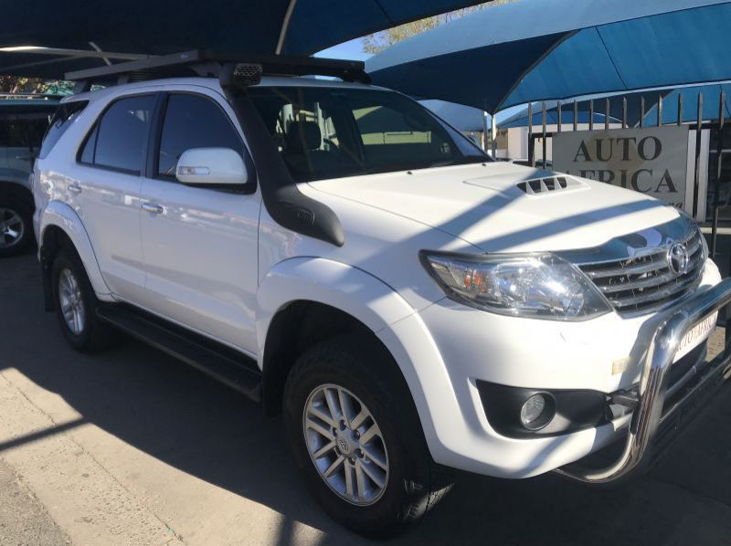Used Toyota Fortuner 3.0  D4D  4x4  Man  for sale in Windhoek, Namibia